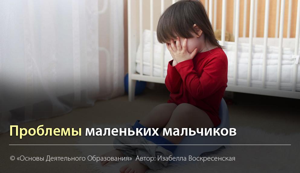 """""""Проблемы маленьких мальчиков"""" Автор Изабелла Воскресенская"""