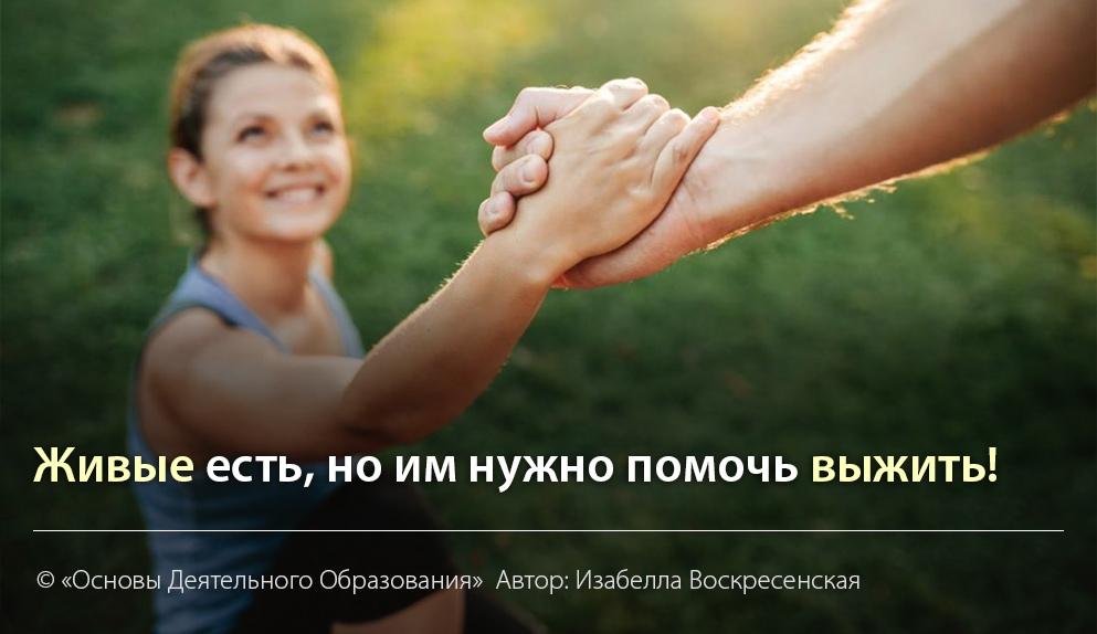 """""""Продолжая тему - живые есть, но..."""" Автор Изабелла Воскресенская"""