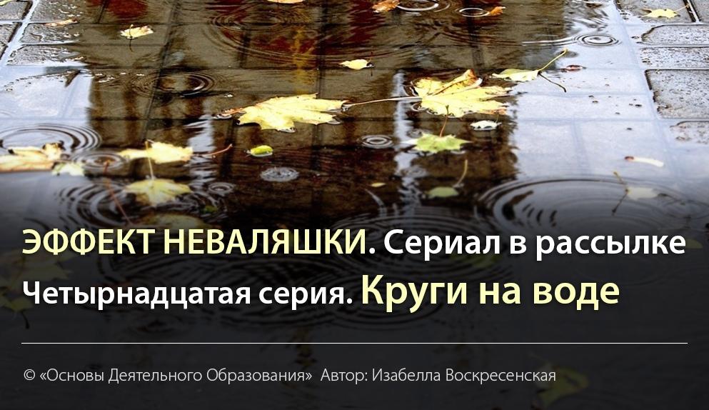 ЭФФЕКТ НЕВАЛЯШКИ. Автор: Изабелла Воскресенская